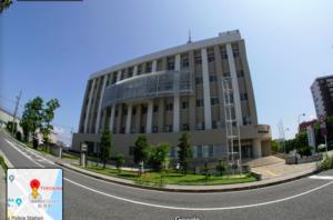 蕪木紀哉容疑者が勾留されている横須賀署の画像