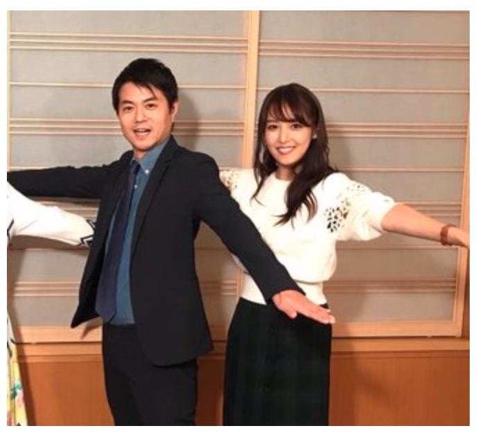 鷲見玲奈アナと増田和也アナの共演動画・画像