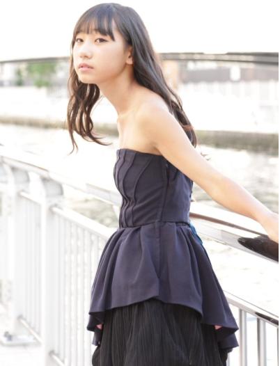 下北姫菜の水着画像がかわいい!【THEカラオケバトルU18】