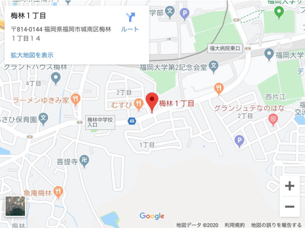 【福岡市城南区】犬虐待の場所は?