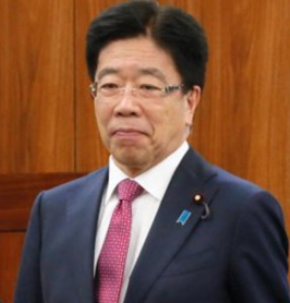 厚生労働大臣の加藤勝信のプロフィール