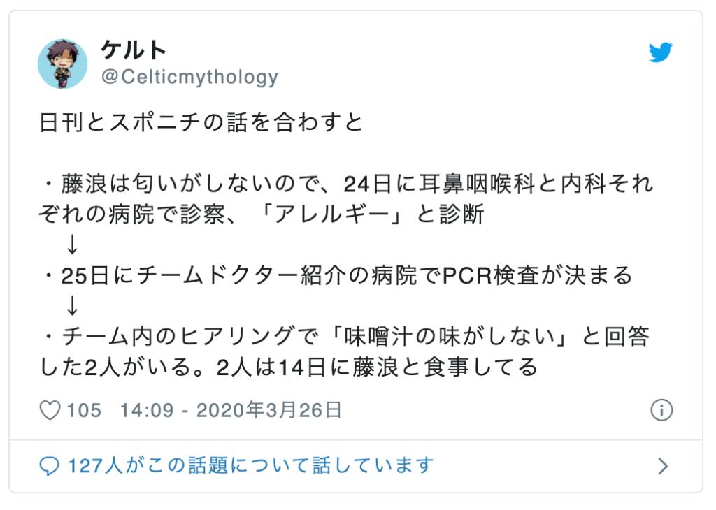 藤浪晋太郎と一緒に食事をした他の同僚2選手は伊藤隼太・長坂拳弥で特定